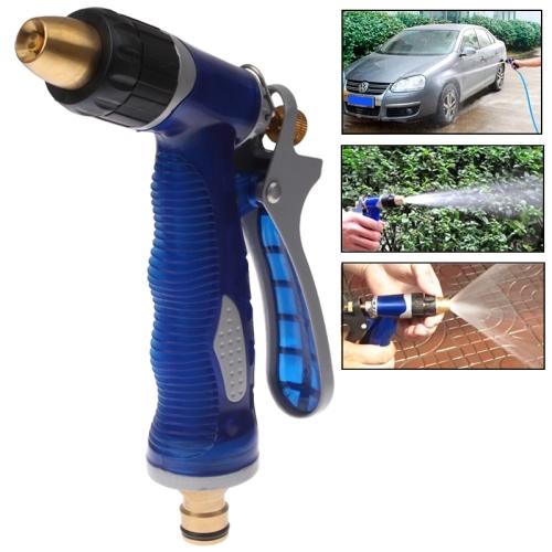 High pressure water hose nozzle copper gun head for