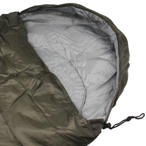 Camping Warm Rectangle Sleeping Bag (Army Green)