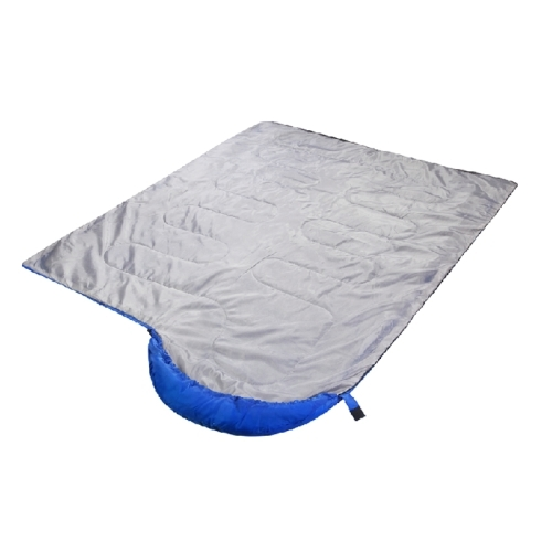 Camping Warm Rectangle Sleeping Bag (Blue)