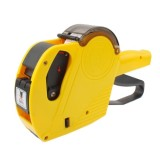 High Performance Handheld ink 8 Digits Price Labeller, Yellow  (No.7503)