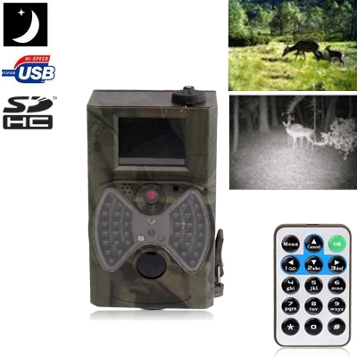 2.0 inch LCD 12MP Waterproof IR Night Vision Hunting / Trail / Security Camera
