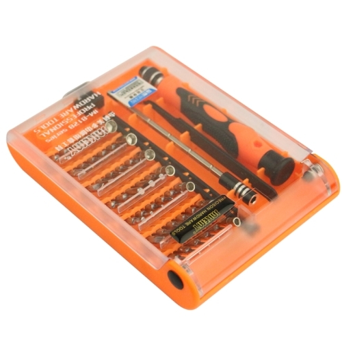 Family Must-Have Repair Tool Compatible with Cellphone//PC JM-8127 Magnetic Interchangeable 53 in 1 Multipurpose Precision Screwdriver Set Repair Tools for Phone Convenient