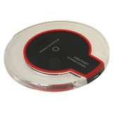 FANTASY Wireless Charger & 8Pin Wireless Charging Receiver for iPhone 6 Plus / 6 / 5S / 5C / 5 (Black)