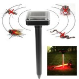 RC-507 Solar Power Portable Rat Mice Rodent Mole Pest Repellent Sonic Garden Wave Repeller