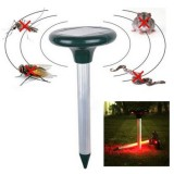 RC-501 Solar Power Ultrasonic Rodent Mole Mouse Rat Pest Gopher Rodent Repeller