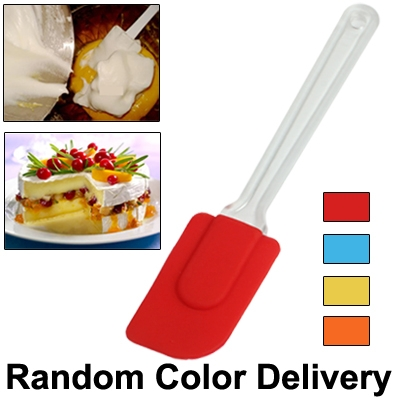 Silicon Scraper Butter Spreader Knife Cake Smoother Cake Baking Tool  (Random Color Delivery)