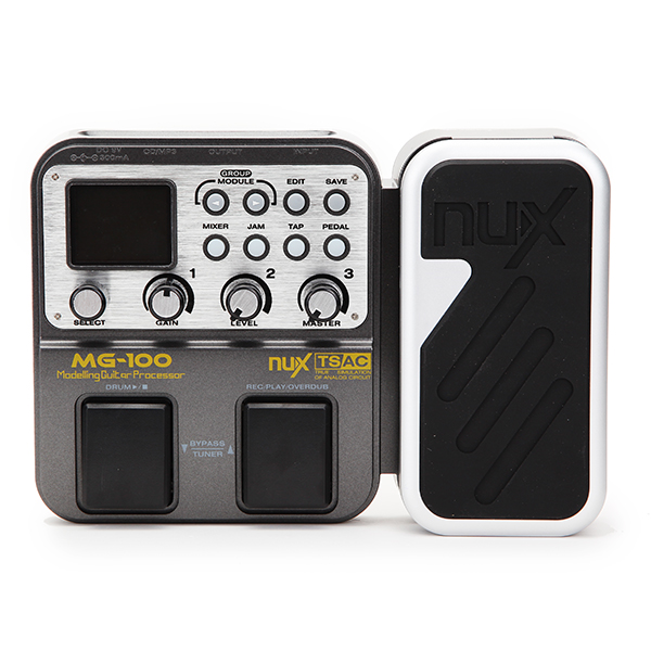 Stringed Instruments Collection Here Nux Mg-20 Multi-effects Pedal Guitar Processor With Wah-wah Volume Expression Pedal 60 Effects 72 Presets With Drum Machine