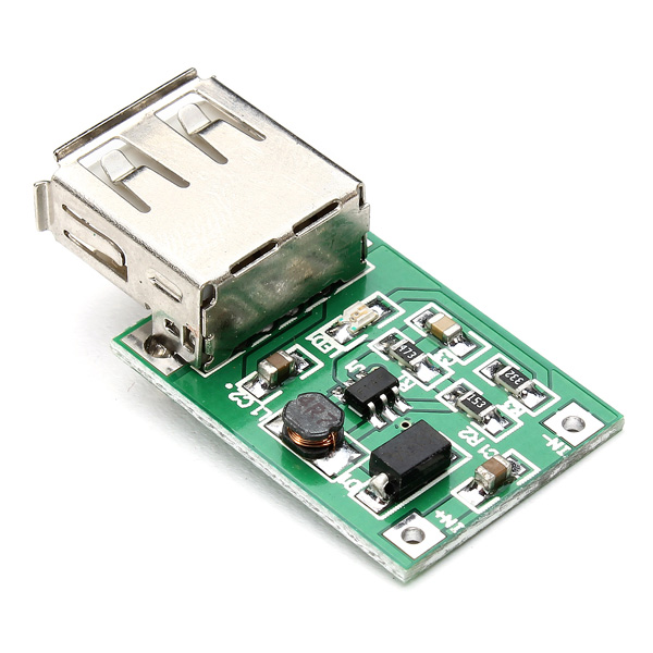 DC-DC 0.9V-5V USB Output Charger Step Up Power Module ...