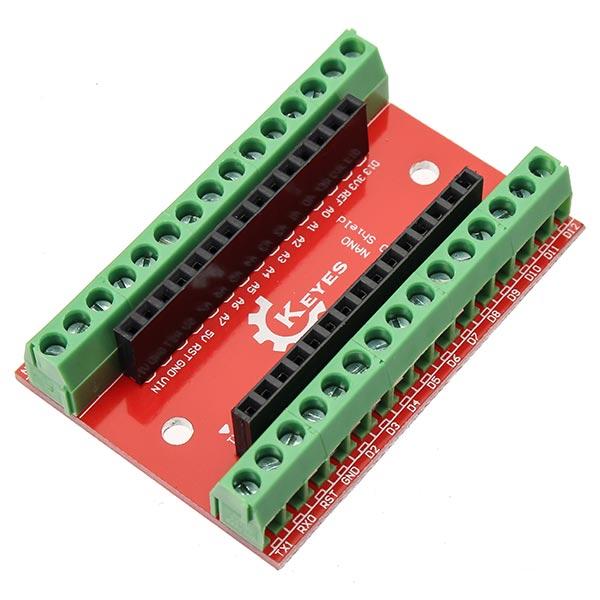 Nano io shield expansion board for arduino alexnld