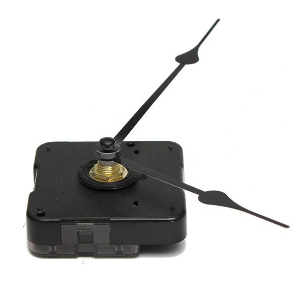 Black hands quartz clock movement kit diy clock kit alex nld for Castorama horloge