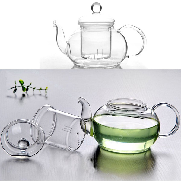 ... Heat Resistant Glass Teapot With Infuser Coffee Tea Leaf. SKU198050-4. ...