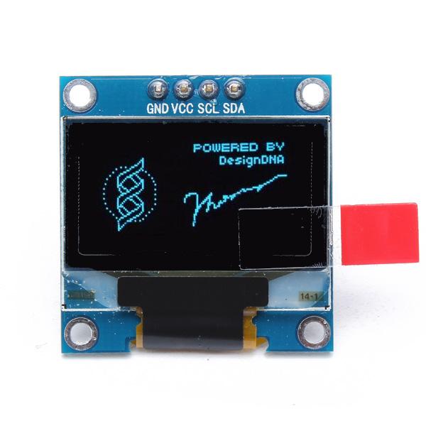 Inch pin iic i c blue oled display module for