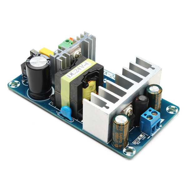 4A To 6A 24V Switching Power Supply Board AC-DC Power Module ...