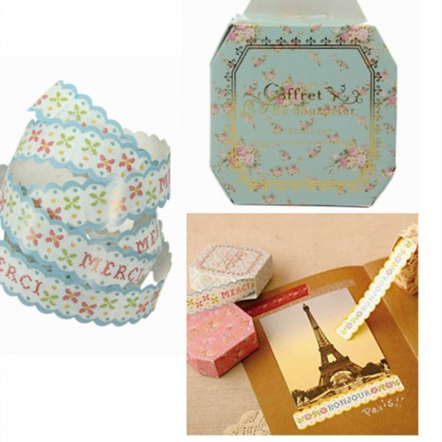 Decorative roll sticky paper self adhesive tape diy gift for Decorative paper rolls