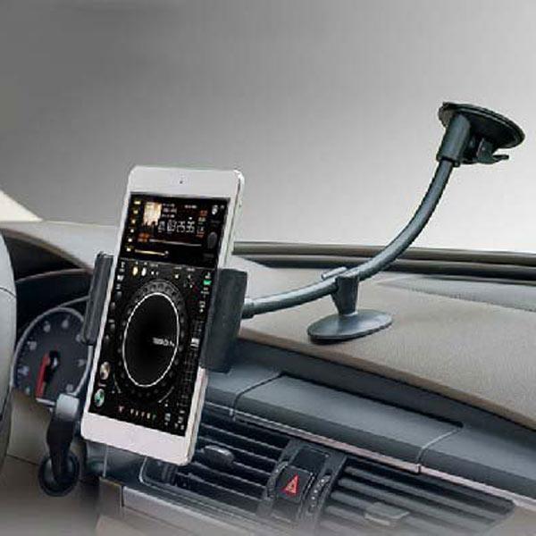 car dashboard windshield suction mount for 7 inch tablet cellphone. Black Bedroom Furniture Sets. Home Design Ideas
