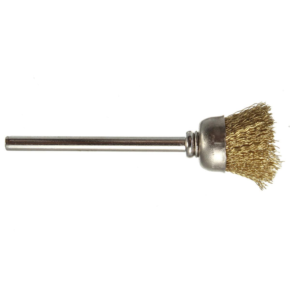 16mm Brass Wire Wheel Brush Compatible For Die Grinder Dremael ...