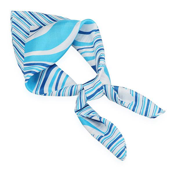 how to wear emirates stewardess scarf