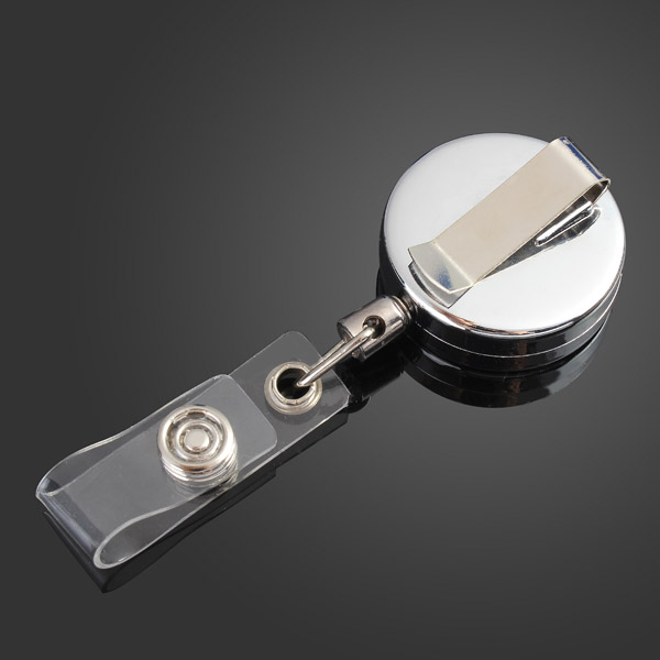 Retractable Key Chain Ring With Belt Clip