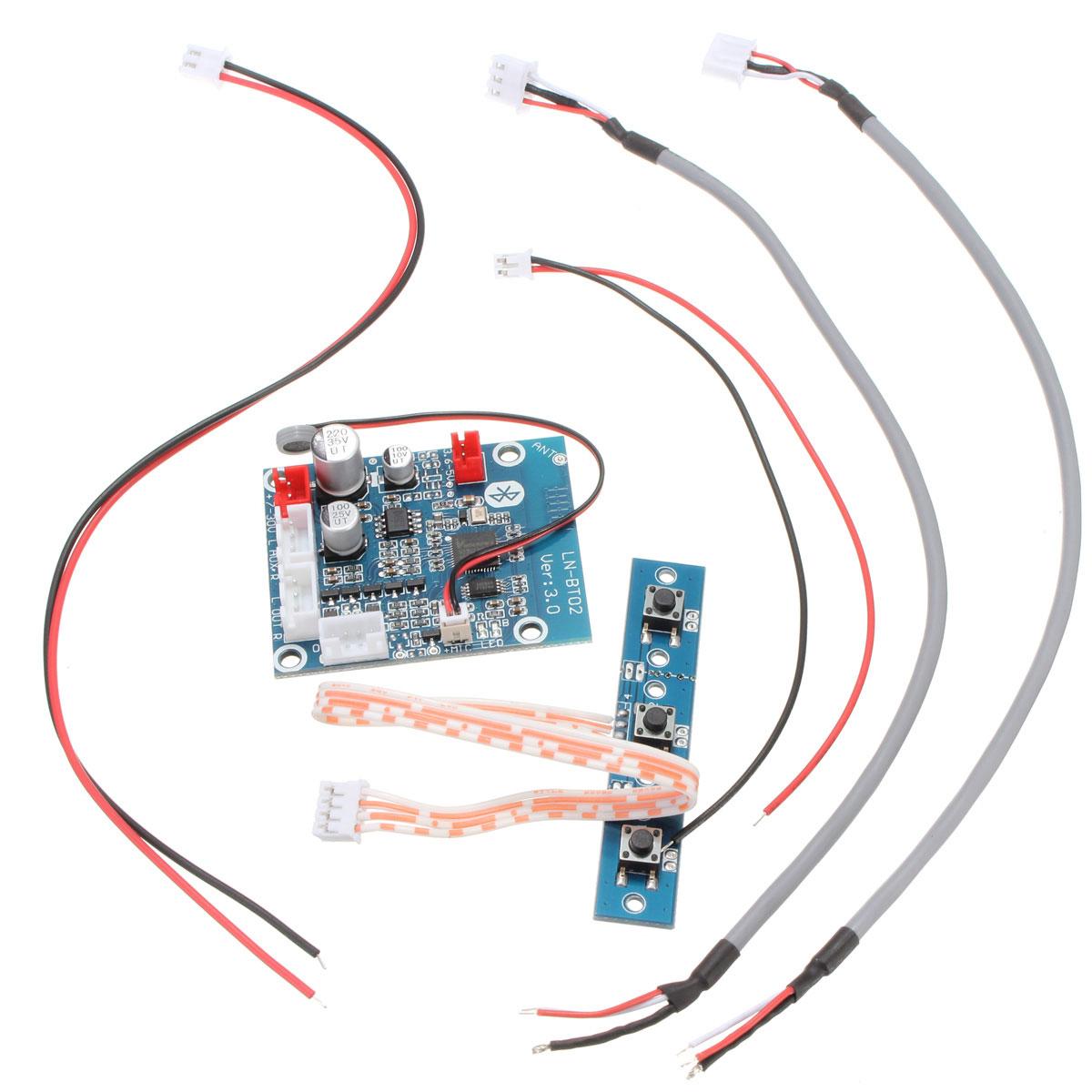 how to make a bluetooth audio receiver circuit