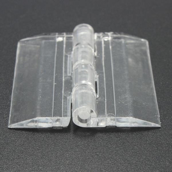 45x38mm Door Window Clear Pmma Acrylic Folding Hinge