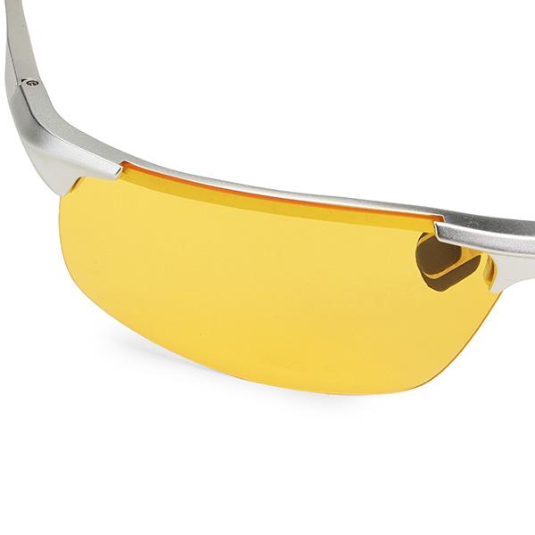UV400 Men Polarized Sunglasses Yellow Lens Night VISION Driving Fishing Cycling glasses