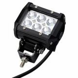 Universal 18W LED IP67 Bar Spot Work Light for 4WD UTE Off-road Car Boat Truck SUV (Flood Optional)