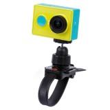 Camera Mount Tripod Holder with Head strap / Helmet Hat for GoPro HERO4 / 3+ / 2 & 1,XiaoMi YI,SJCAM SJ4000 / SJ5000 / SJ6000 / SJ7000 / Kjstar Sport Camera (Black)