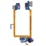 USB Charging Connector Port Flex Cable & Earphone Audio Jack Flex Cable & Microphone Flex Cable Replacement for LG G2 / D800 / D801 / D803 / D800T