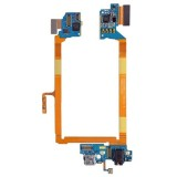 USB Charging Connector Port Flex Cable & Microphone Flex Cable Replacement for LG G2 / LS980