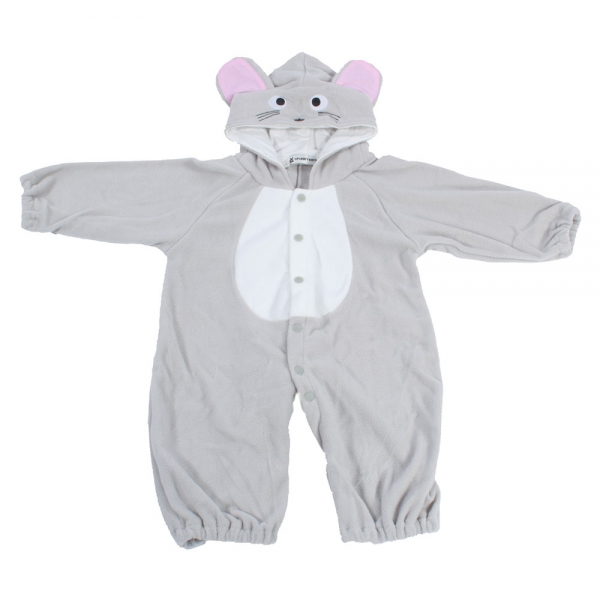 86fdc7fa9bfb NEW Newborn Baby Girl Boy s Cute Hooded Fleece Jumpsuit Onepiece ...