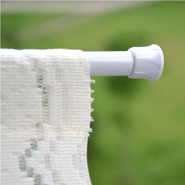 30-50cm extendable window curtain telescopic pole shower curtain