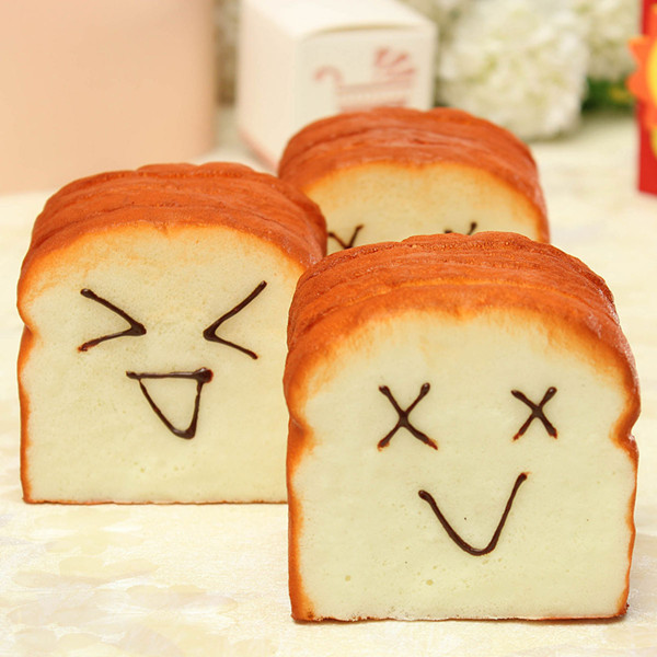 Squishy Jumbo Toast : Jumbo Squishy Slice Toast Joy Happy Faces Phone Card Stand Random Alex NLD
