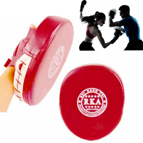 Boxing Mitt MMA Target Focus Punch Pad Training Glove Karate Thai Kick Muay New