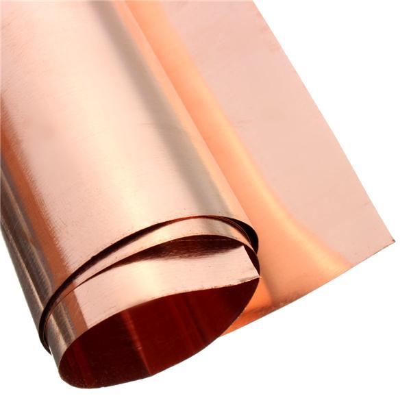 1pc 99 99 Pure Copper Metal Safe Sheet Foil For