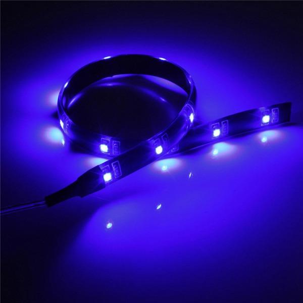 4 5v battery operated 30cm led strip light waterproof for Little led lights for crafts