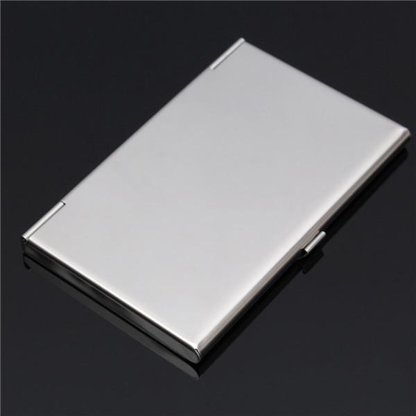 Stainless steel silver aluminium platband business card holder case stainless steel silver aluminium platband business card holder case cover sku2332321g sku2332322g colourmoves
