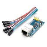 W5500 Ethernet Network Module TCP/IP Interface 51/STM32 Program