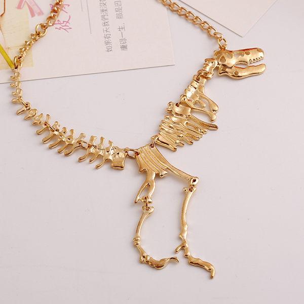 Metal Walking Dragon Dinosaur Skeleton Tyrannosaurus