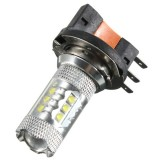H15 White CREE LED Car Halogen Bulb 12V 80W DRL Light
