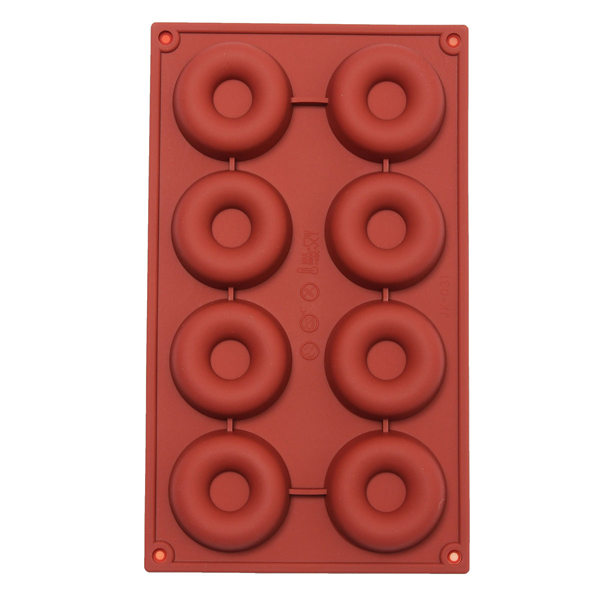 DIY Silicone Donuts Mold Cake Chocolate Cookies Baking Mould