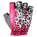 SAHOO Bicycle Gloves Half Finger Cycling Gloves Shockproof Anti-slip Women Gloves