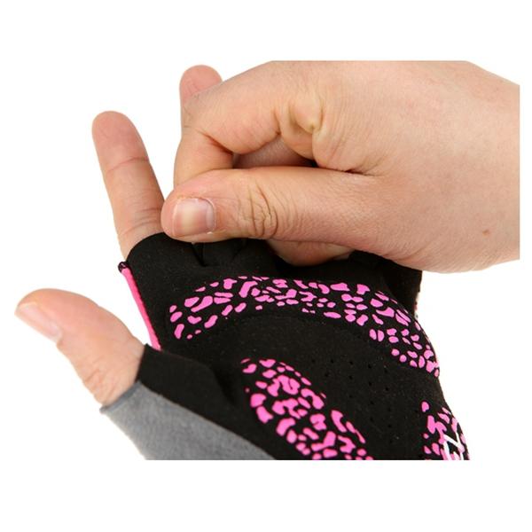 SAHOO Bicycle Gloves Half Finger Cycling Gloves Shockproof Anti-slip Women Gloves