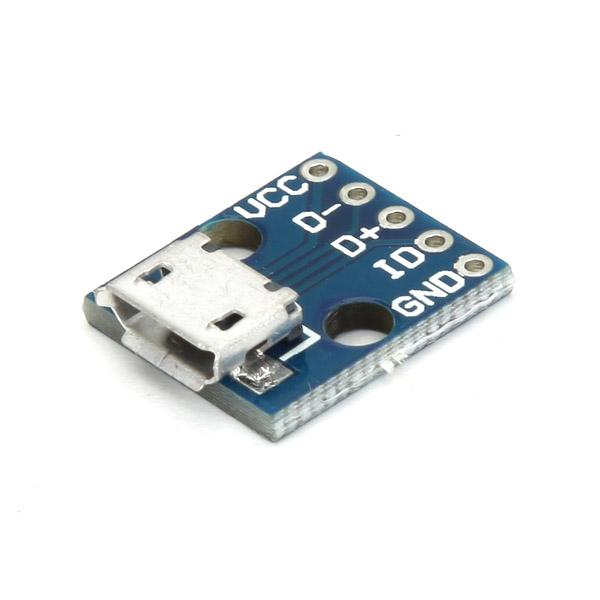 5Pcs CJMCU Micro USB Interface Board Power Switch Interface