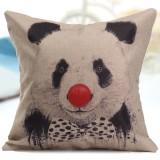 Cotton Linen Animal Throw Pillow Case Home Office Cushion Cover