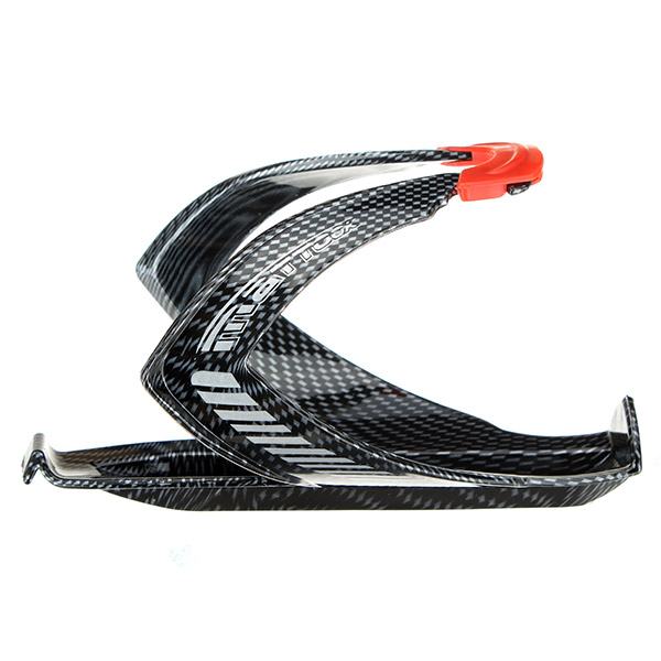 Carbon Fiber Bicycle Bottle Cage Plastic Texture Water Bottle Holder Cup Holders