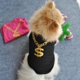 Summer Cat Dog Vest Breathable Mesh Vest Puppy Dog Waistcoat Sleeveless Shirt