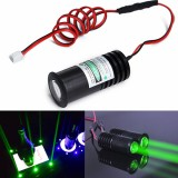 532nm 50mW Thick Beam Green Laser Module Projector For Bar Stage Exhibition Stand Lighting