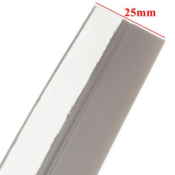 25mmx5m Window Door Silicone Rubber Sealing Sticker Seal