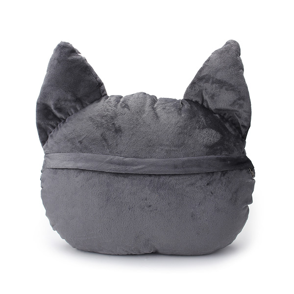 Average Throw Pillow Sizes : 2 Sizes Plush Creative 3D Dog Cat Throw Pillows Meow Star Sofa Bed Cushion Alex NLD