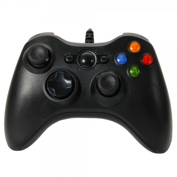 Usb wired controller for xbox 360 windows pc black for Xbox one hunting and fishing games